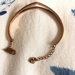 Swarovski Jewelry - Swarovski bracelet rose gold - excellent condition